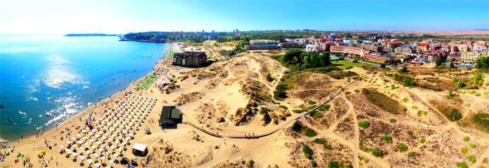 Sunny Beach for partyløver og barnefamilier