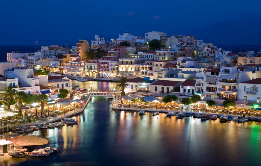 Kreta på natten